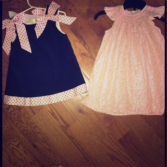 Other - 2 Boutique 2t dresses 🌸bundle🌸